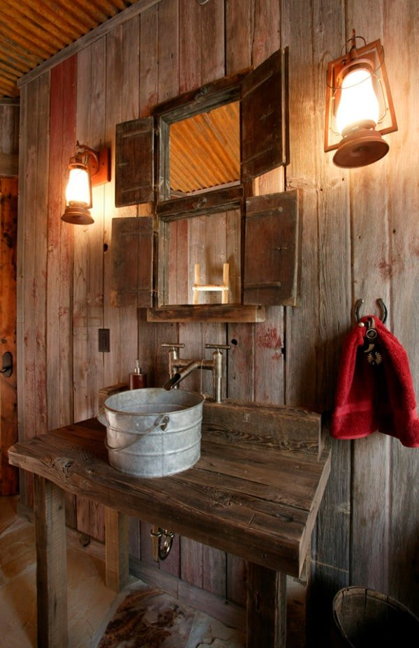 51 insanely beautiful rustic barn bathrooms Bath barn