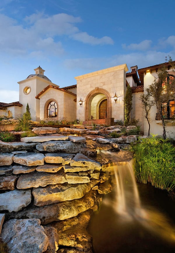 featured posts image for Showcase home in Austin: Spanish Oaks Hacienda