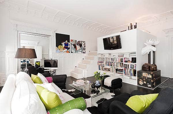 featured posts image for Fantastic bright and airy loft apartment in Sweden