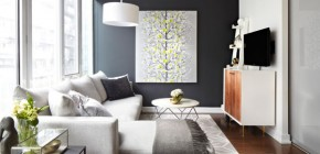 51 Modern and fresh interiors showcasing gray paint