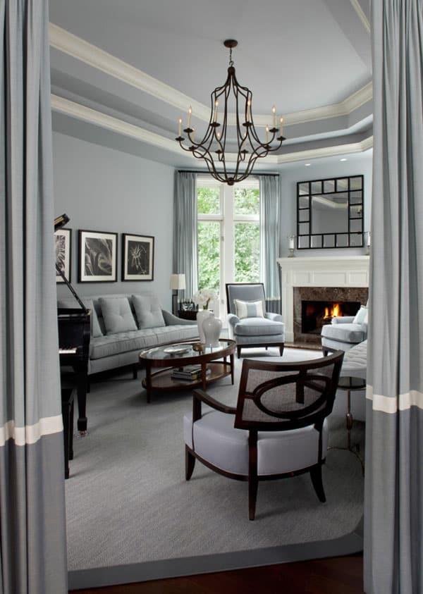 PAINTER'S EDGE: Modern and Fresh Interior Ideas In Grey