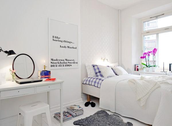 Small Bedroom Ideas-10-1 Kindesign