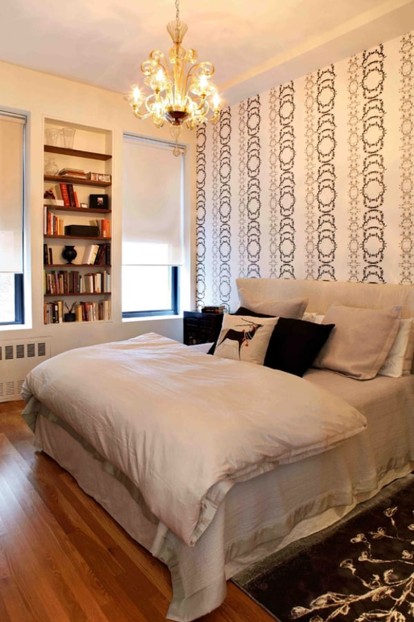 60 unbelievably inspiring small bedroom design ideas for Small bedroom wall pictures