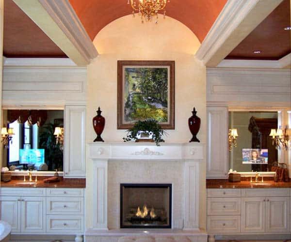 Bathroom Fireplace Ideas-048-1 Kindesign