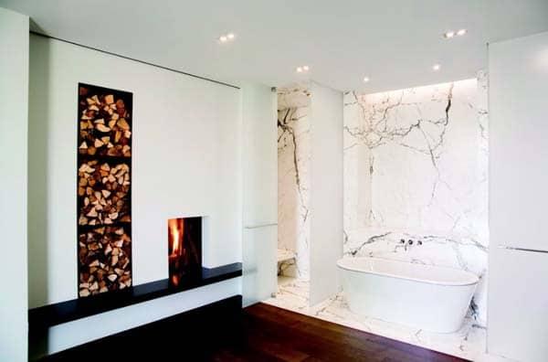 Bathroom Fireplace Ideas-09-1 Kindesign