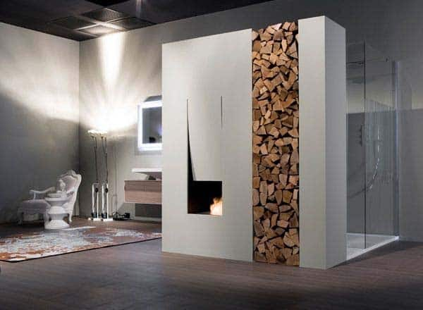 Bathroom Fireplace Ideas-10-1 Kindesign