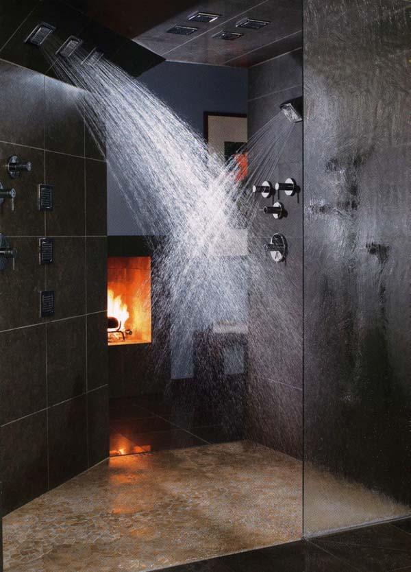 Bathroom Fireplace Ideas-14-1 Kindesign