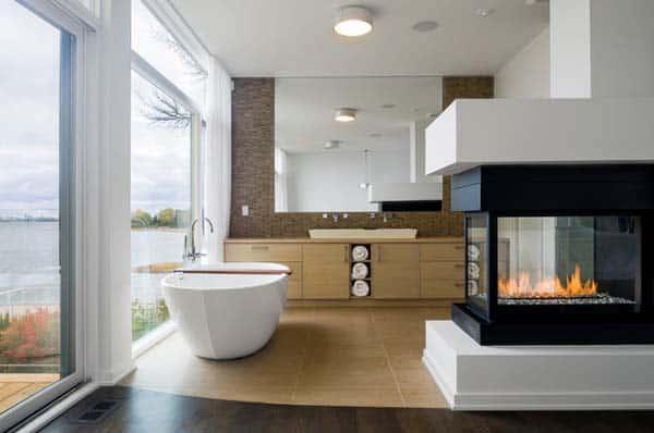 Bathroom Fireplace Ideas-25-1 Kindesign