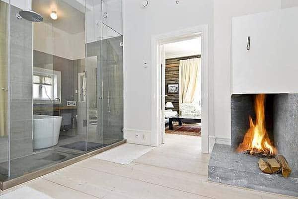 Bathroom Fireplace Ideas-28-1 Kindesign