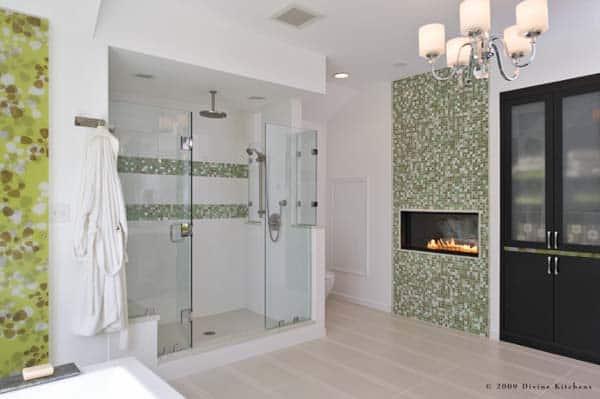 Bathroom Fireplace Ideas-30-1 Kindesign