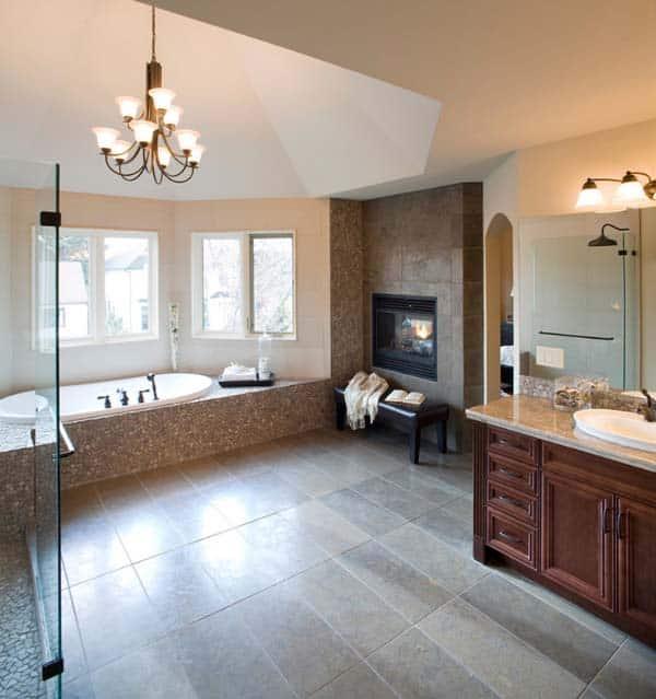 Bathroom Fireplace Ideas-36-1 Kindesign
