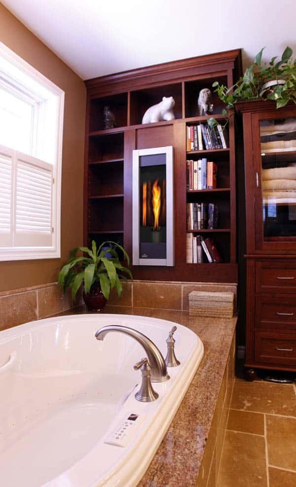 Bathroom Fireplace Ideas-39-1 Kindesign