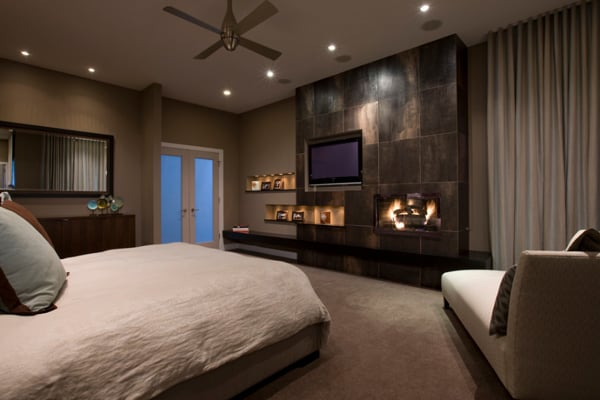 55 spectacular and cozy bedroom fireplaces Bedroom fireplace ideas