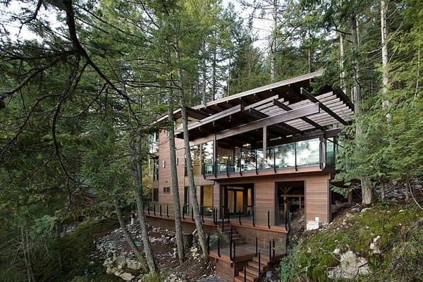 Gambier Island House-Turkel Design-01-1 Kindesign