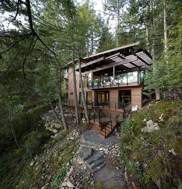 Gambier Island House-Turkel Design-30-1 Kindesign