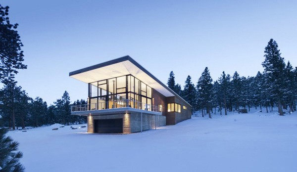 featured posts image for Modern Rocky Mountain getaway: Lodgepole Retreat