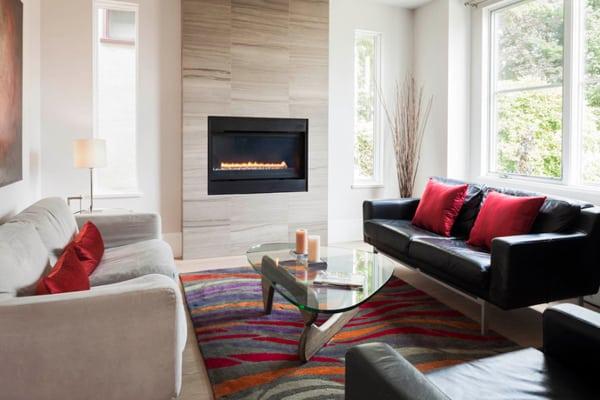 Modern Fireplace Design Ideas-06-1 Kindesign
