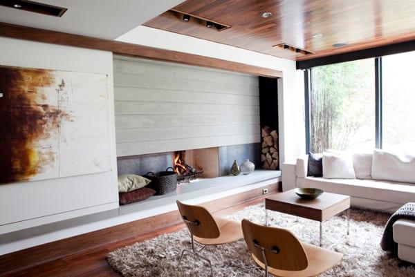 Modern Fireplace Design Ideas-08-1 Kindesign