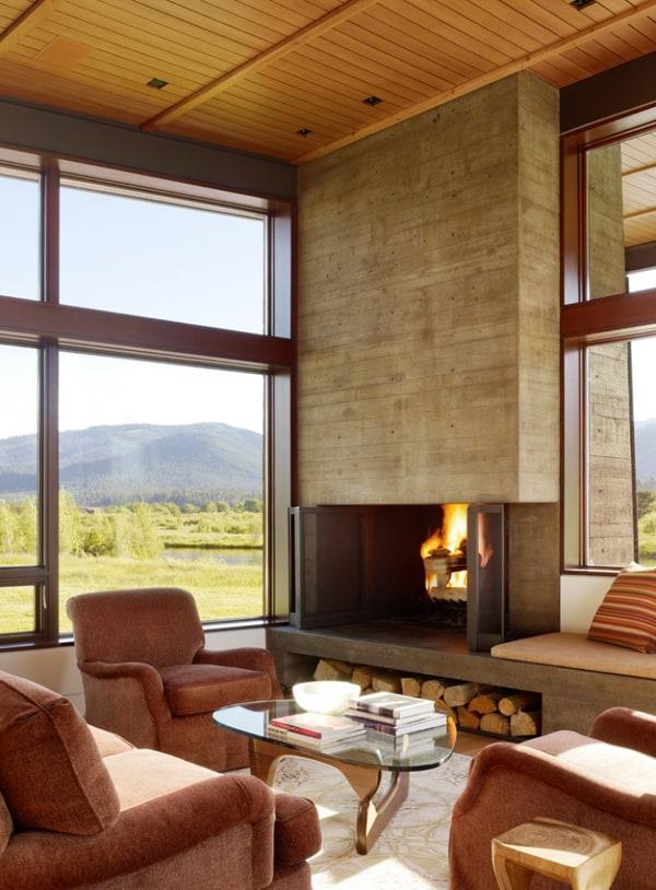 Modern Fireplace Design Ideas-12-1 Kindesign