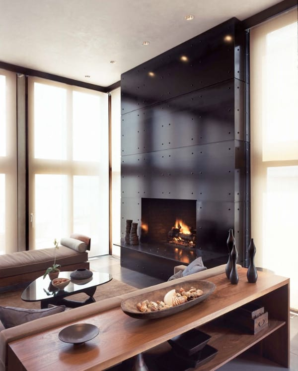 Modern Fireplace Design Ideas-13-1 Kindesign