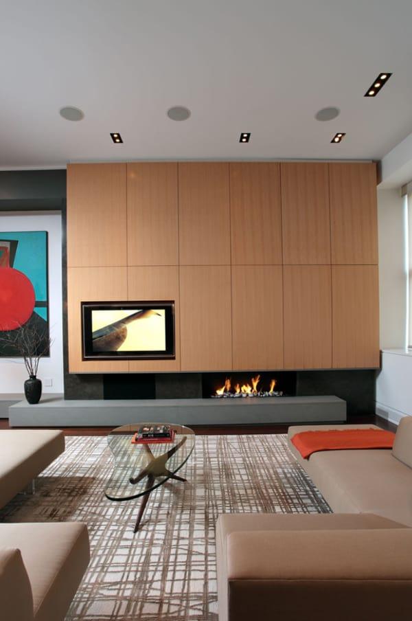 Modern Fireplace Design Ideas-20-1 Kindesign