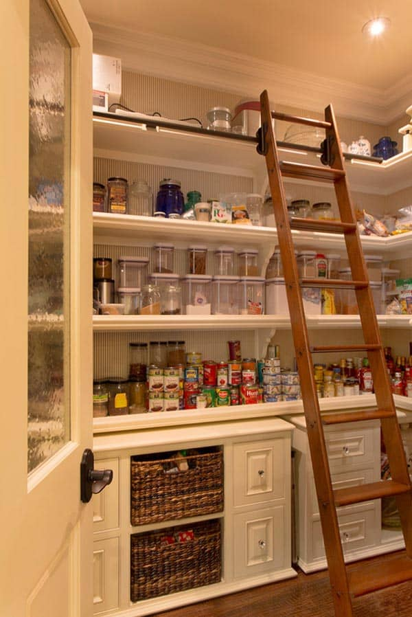 53 mind blowing kitchen pantry design ideas
