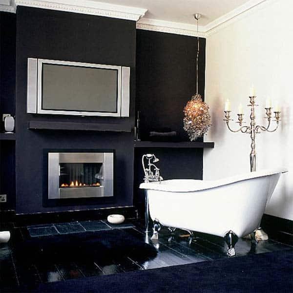 Bathroom Fireplace Ideas-050-1 Kindesign