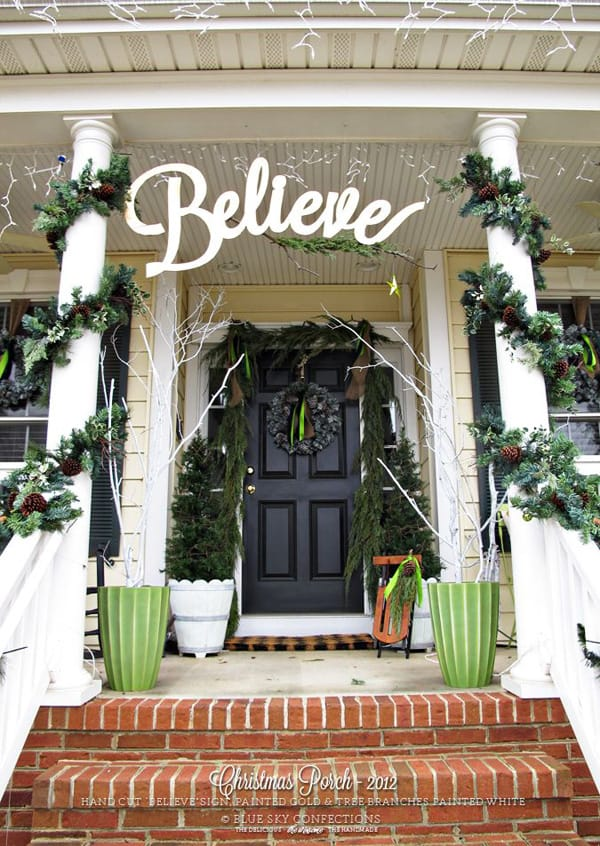 Decorating Ideas > 56 Amazing Front Porch Christmas Decorating Ideas ~ 232629_Outdoor Christmas Decorating Ideas Front Porch