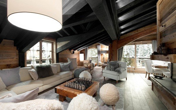 featured posts image for Le Petit Chateau luxury ski chalet in Courchevel 1850