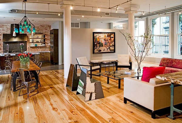 TriBeca Loft-Threshold Interiors-01-1 Kindesign
