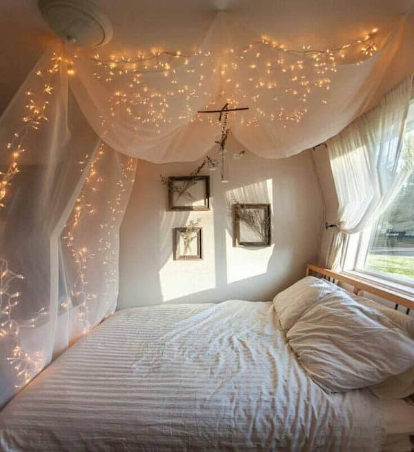 twinkle lights on bedroom ceiling 66 inspiring ideas for lights in the bedroom 20033