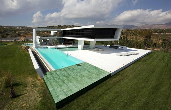 featured posts image for Bioclimatic H3 House surrounded by water in Athens
