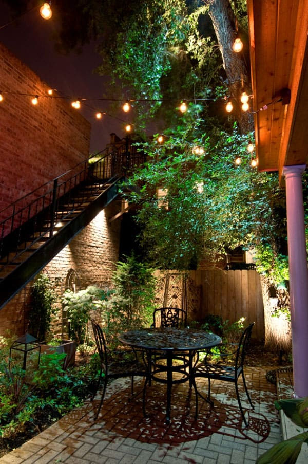 52 spectacular outdoor string lights to illuminate your patio - Luces patio exterior ...
