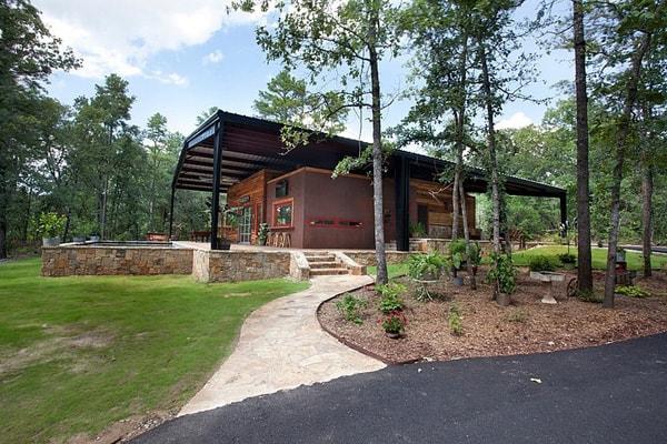 Rustic Modern Residence- Wright-Built-01-1 Kindesign