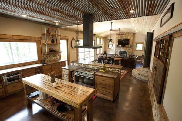 Rustic Modern Residence- Wright-Built-07-1 Kindesign