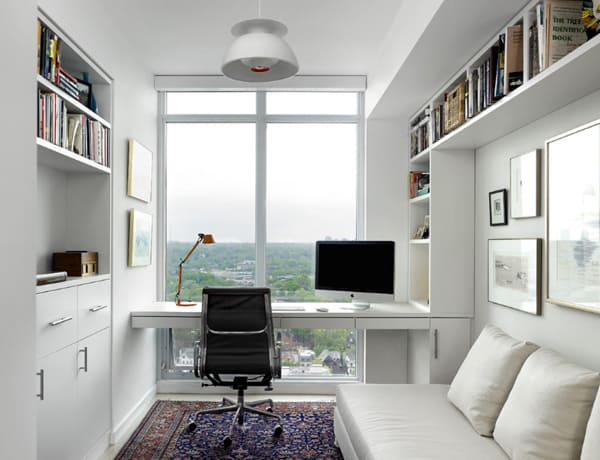 47 amazingly creative ideas for designing a home office space. Black Bedroom Furniture Sets. Home Design Ideas