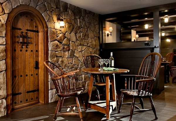 Incredible Makeover Of Basement Turned Home Pub