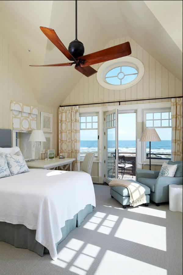 50 beautiful coastal chic bedroom retreats for Coastal bedroom design