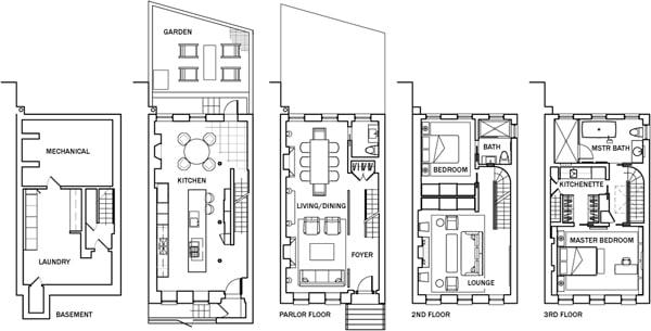 Greenwich Village Townhouse-Axis Mundi-27-1 Kindesign