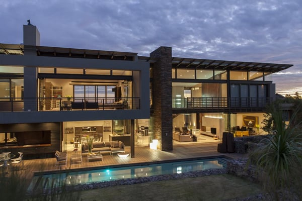 featured posts image for Open plan glass and steel home in South Africa: House Dukken