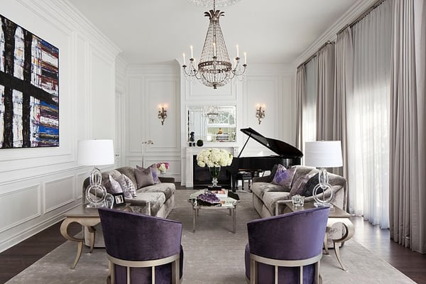 featured posts image for Ultra-glamorous European French Villa in West Hollywood