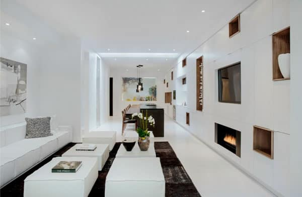 featured posts image for Modern urban townhome model by Cecconi Simone