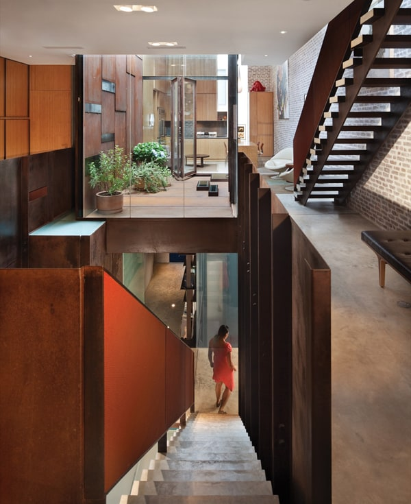 featured posts image for Inverted Warehouse Townhouse renovation in TriBeCa