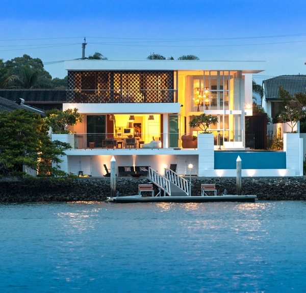 Luxury Waterfront Homes: Luxury Waterfront Property In Queensland: Promenade Residence