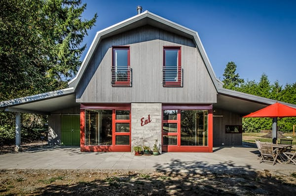 featured posts image for Barn Conversion on Vashon Island by Floisand Studio