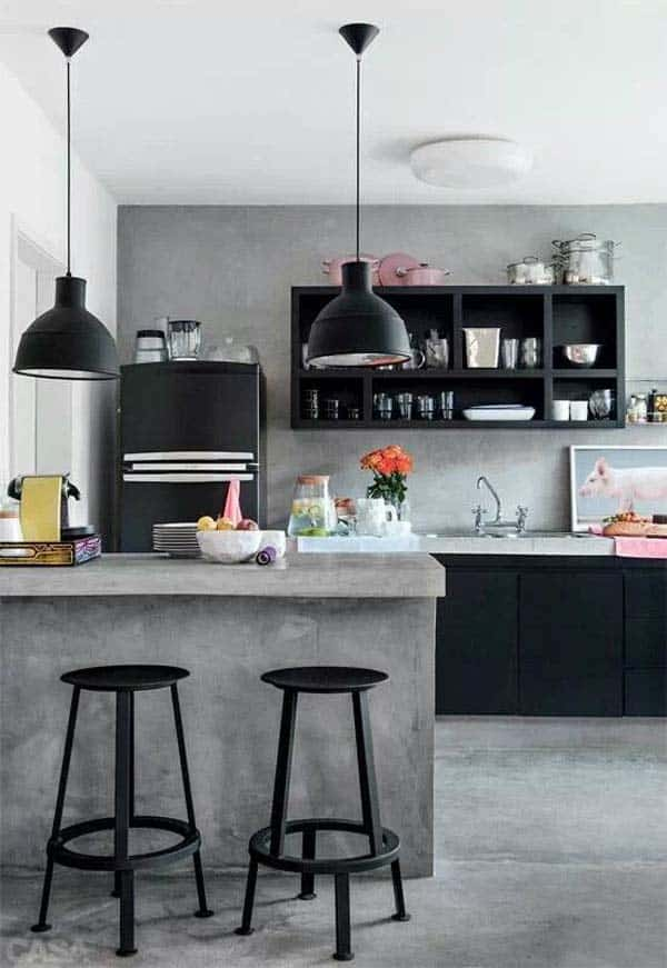 Industrial Kitchen Designs-01-1 Kindesign