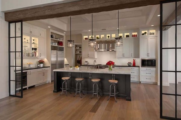 47 incredibly inspiring industrial style kitchens Industrial design kitchen ideas