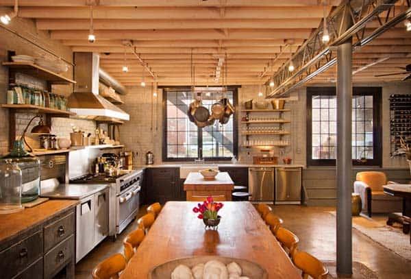 Industrial Kitchen Designs-18-1 Kindesign