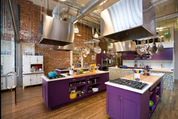Industrial Kitchen Designs-32-1 Kindesign