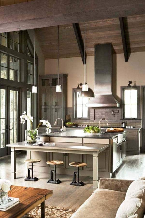 Industrial Kitchen Designs-40-1 Kindesign